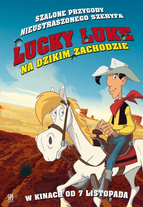 Lucky Luke na Dzikim Zachodzie / Tous a l'Ouest: Une aventure de Lucky Luke (2007) [Dubling PL] [DVDRip]